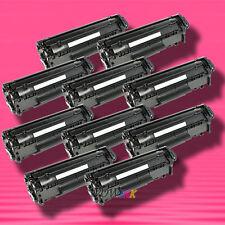 10 Non-OEM Alternative TONER for HP Q2612A 12A LaserJet 1020 1022 1022n 1022nw