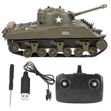 Henglong 2.4G US M4A3 SHERMAN INFRARED BATTLE TANK SERIES RTR RC TANK R/C