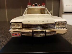 1:18 Dodge Monaco Police Car, Dukes Of Hazzard TV Series Car, Roscoe P Coltrane