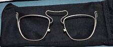 USGI Military Issue Uvex & XC Safety Glasses Prescription Insert 46-20 - New