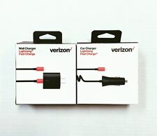 OEM Verizon 30W Lightning Wall or Car Fast Charger for iPhone 5 6 7 8 X 11 Max