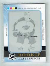 11-12 UD The Cup  Drew Bagnall  1/1 Printing Plate  Rookie