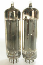 2 matched 1958 Mullard 6CA4 EZ81 tubes - TV7D tested @56/55, 57/55, min:40/40