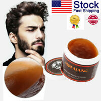 100g Men Hair Styling Oil Wax Hair Gel Retro Modeling Bright Strong Hold Pomade