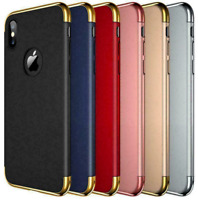 For Apple iPhone 6/ 6S/ 7/ 8 Ultra Thin Hard PC Shell 3 in 1 Case