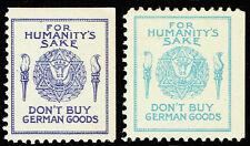 1933 Jewish War Veterans of the U.S., the 2 varieties