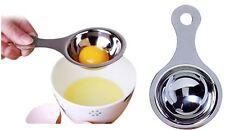 Egg Separator Stainlees Steel Metal Cake Yolk Gadget Kitchen Cooking Baking Tool