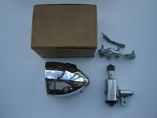VINTAGE VITARAM CHROME FRONT / HEAD LIGHT + DYNAMO FOR BICYCLE - NOS - NIB