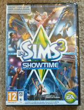 PC DVD The Sims 3 Showtime Expansion New Dutch Version Damaged Box
