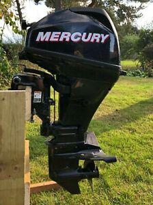 Mercury outboard engine 15HP Four Stroke Short Shaft electric start
