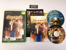 SHENMUE II + DVD The Movie XBOX PAL ITA