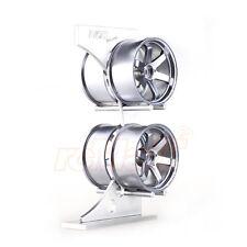 NZO Aluminum Wheel Rack Silver EP 1:10 RC Car Touring Drift On Road #N012S