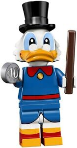 NEW Lego Disney Series 2 Collectible Minifigure & Checklist: SCROOGE MCDUCK