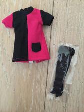 Cute Cool Cat mod dress and socks set for Blythe or vintage Skipper