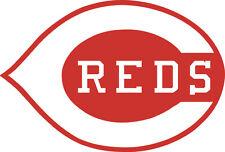 "Cincinnati Reds Corn Hole (Bag Toss) 16"" x 11""  Vinyl Decals set of 2"