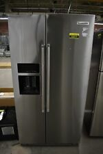 "KitchenAid Krsc703Hps 36"" Stainless Side By Side Refrigerator Nob #50872 Hrt"