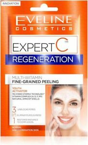 Eveline EXPERT C 3 in 1 Youth Activator Vitamin Fine-Grained Peeling 2 x 5ml