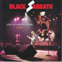 "BLACK SABBATH  ""Live In Asbury Park 1975 (Soundboard) (RARE 2 CD)"