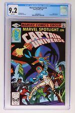 Marvel Spotlight #v2 #9 - Marvel 1980 CGC 9.2 Captain Universe. 1st Appearance o
