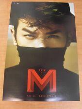 LEE MIN WOO (SHINHWA) - M+TEN CD (Sealed) + Unfold POSTER  K-POP