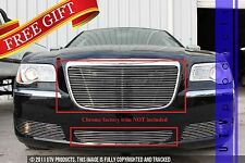 GTG 2011 - 2014 Chrysler 300 and 300C 2PC Polished Insert Billet Grille Kit