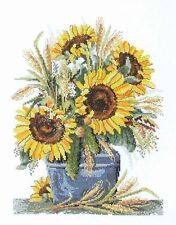 Sunflower Harvest -  Cross Stitch Chart - Country Threads