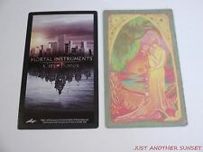 Mortal Instruments City of Bones Trading Tarot Card Single the Lovers BC