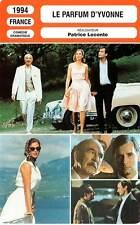 FICHE CINEMA : LE PARFUM D'YVONNE - Marielle,Leconte 1994 The Scent Of Yvonne