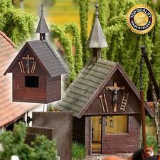 HO Busch FARM FARMYARD CHAPEL Rural Building KIT # 1509 Farm Diorama