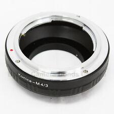 Konica AR mount Lens To Micro 4/3 Panasonic Olympus Adapter E-PL6 OM-D GX7 GF6