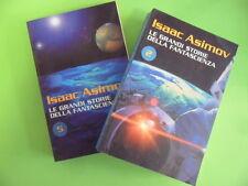 ASIMOV. LOTTO DUE LIBRI. LE GRANDI STORIE DELLA FANTASCIENZA N°2 E 5. RCS 2006