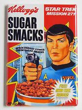 Spock Sugar Smacks Fridge Magnet (2.5 x 3.5 inches) cereal box star trek nimoy