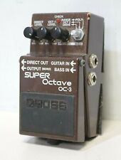 Boss OC-3 Super Octave Guitar Effects / FX Pedal - 209