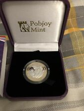 More details for 2021 queens beasts, greyhound of richmond silver proof £2 pound coin,pobjoy mint