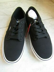 NIB Vans Atwood # VN000TUY187 Black/White Lace Up Classic Shoes Men's Size 8
