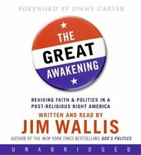 THE GREAT AWAKENING unabridged audio book on CD by JIM WALLIS - Brand New!