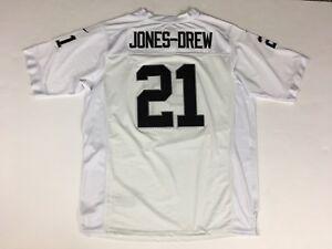 Men's Authentic MAURICE JONES-DREW Sewn Oakland RAIDERS Nike On-Field Jersey 56