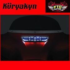 Kuryakyn Chrome L.E.D. Fairing Vent Accent for '14-'17 H-D Touring 5053