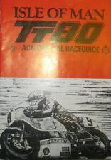 *  TT Tourist Trophy - Isle of Man  - Official Race - Guide 1980  *