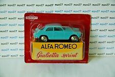 Car Reissue Mercury Hachette: Alfa Romeo Giulietta Sprint Blue 1/48
