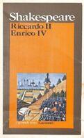 Riccardo Ii - Enrico Iv,Shakespeare William  ,Garzanti,1975