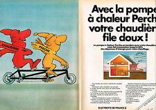 Publicite ADVERTISING 104 1982 edf the pole heat pump (2p)