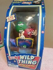M&M's WILD THING ROLLER COASTER  CANDY DISPENSER 2ND EDITION