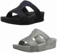 af9e18465e240e NEW FITFLOP WOMEN Sz5US BANDA OPUL SLIP-ON LEATHER SANDALS IN BLACK ...