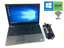 """Dell Precision M6600 Core i7 2nd Gen. 2.5GHz 500GB 16GB 17.3"""" DVD Windows 10"""