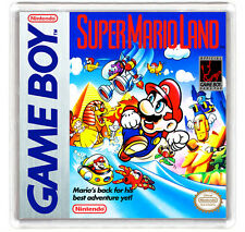 SUPER MARIO LAND NINTENDO GAME BOY FRIDGE MAGNET IMAN NEVERA