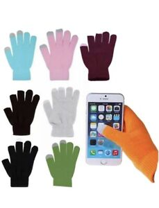 Unisex Winter Touch Screen Gloves For iPhone iPad & Smart Mobile Phone Xmas Gift