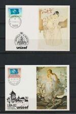 Weltweite Briefmarken mit Sonderstempel