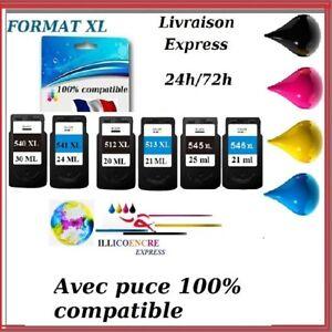 Cartridges Compatible for Canon Pixma Pg CL MX 370 375 390 395 430 435 450 454