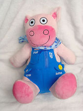 """Avon Tiny Tillia Learn To Dress Dilly Plush Pig Doll Soft Toy 15"""""""